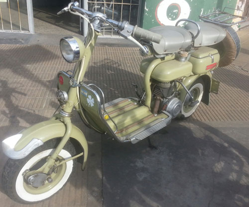 Motorcycle Siambreta De Lujo