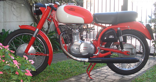 Motorcycle Parilla 175 Lusso Veloce