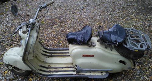 Motorcycle Siambretta 125 LD