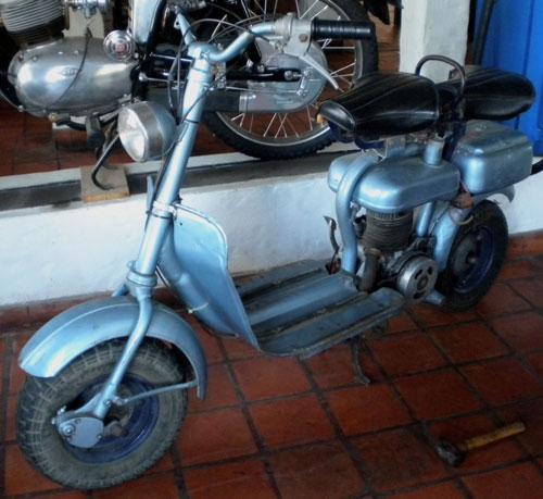 Motorcycle Siambreta 125