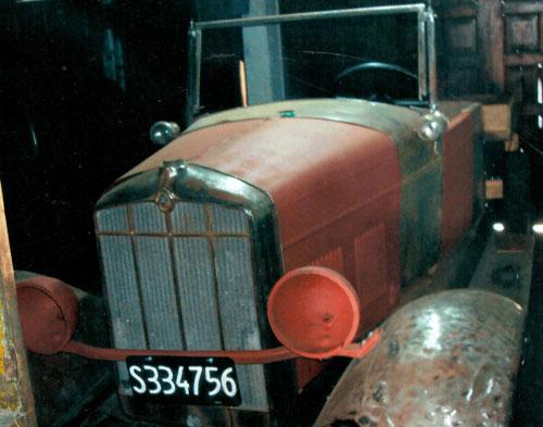 Car Rugby 1929