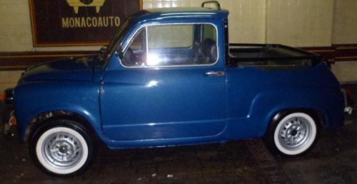 Car Fiat 600 1971