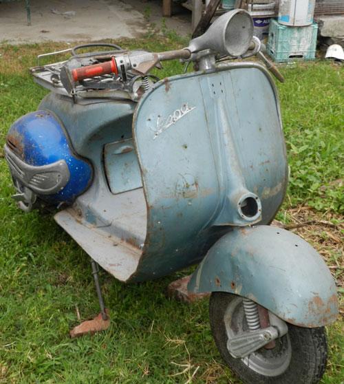 Motorcycle Vespa Vl3
