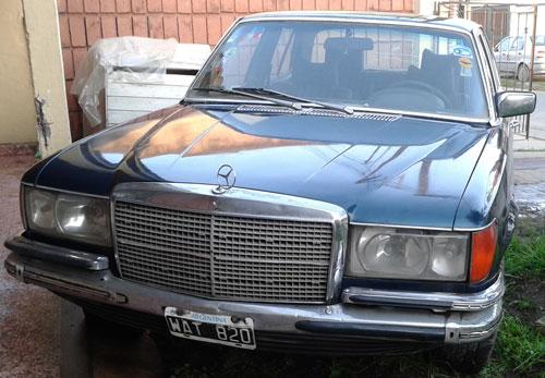 Car Mercedes Benz 280 S 1979