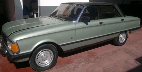 Car Ford Falcon Ghia