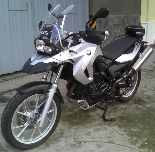 Car BMW F 650 GS Bicilíndrico 800