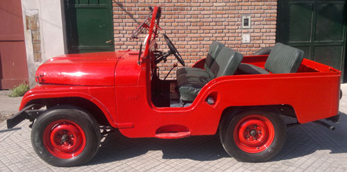 Car Jeep IKA 1962