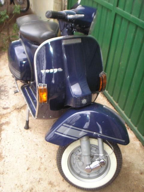Motorcycle Vespa P150X 1981