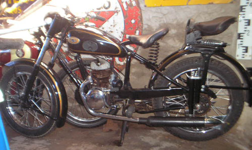 Motorcycle Zundapp 1952 DB201