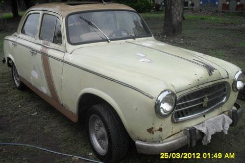 Car Peugueot 403 1962