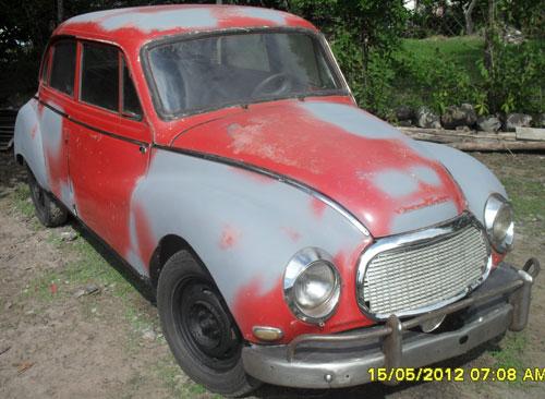 Auto Autounion DKW 1962