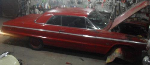 Car Chevrolet Chevelle 1965