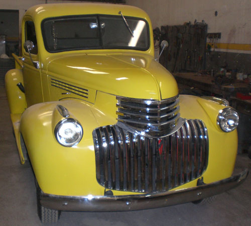 Car Chevrolet Pick Up 1946