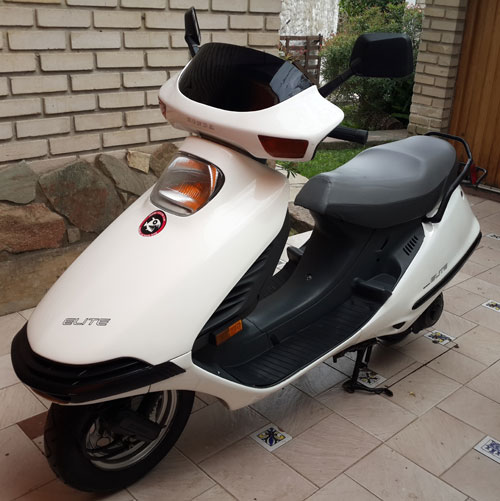 Moto Honda Elite CH 150