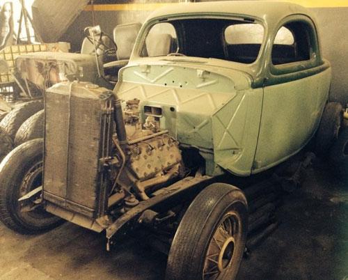 Auto Ford 1935