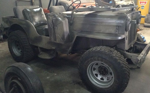 Car Jeep Willys 64 M-606
