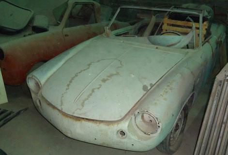 Car Cisitalia 1961