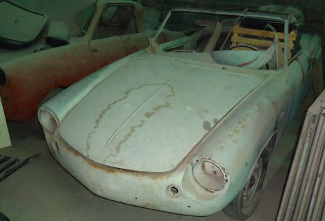 Auto Cisitalia 1961
