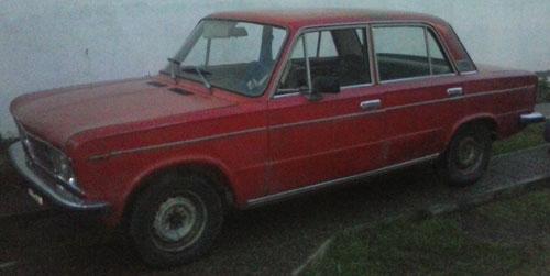 Car Fiat 125 1972