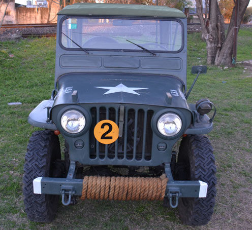 Car Jeep Willys CJ3A