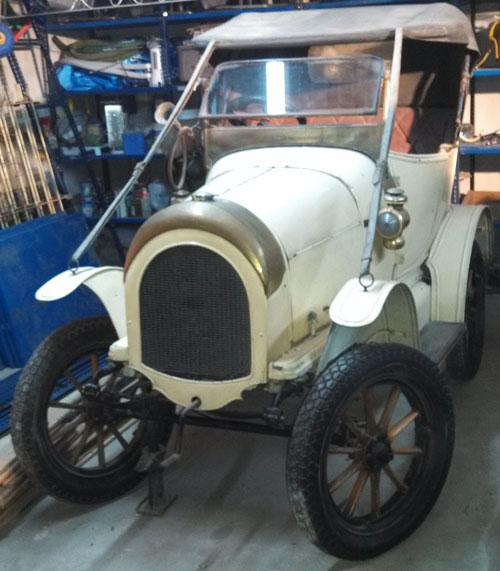 Car Humberette 1904