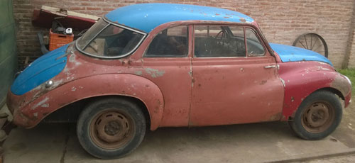 Car DKW 1956