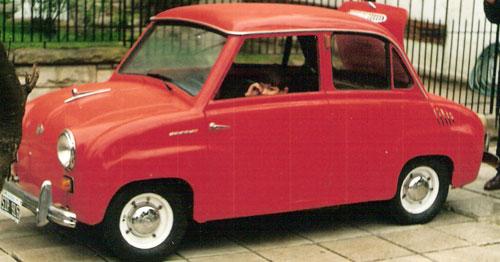 Car Isard T 300 Gogomobil