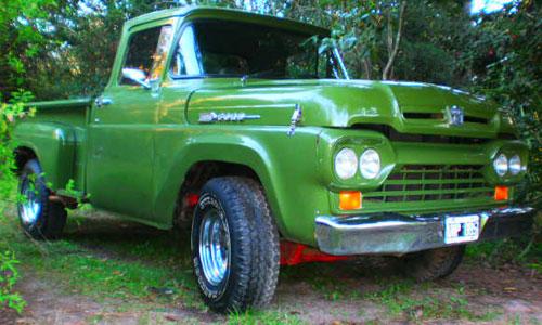 Car Ford F100 1960