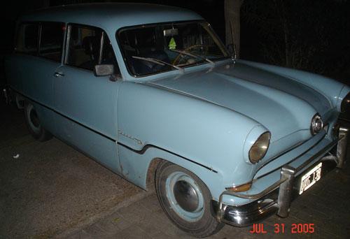 Auto Ford Taunus 15M Rural 1957