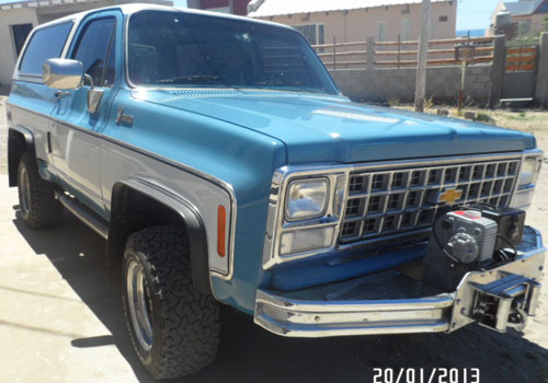 Car Chevrolet Blazer K5