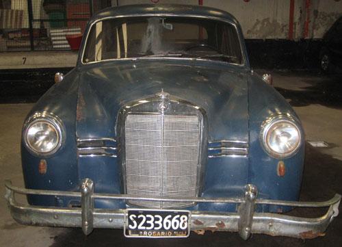 Car Mercedes Benz 180 1953
