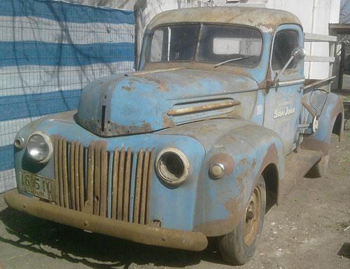Car Ford Half Ton 1946