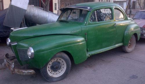 Auto Mercury 1941 Coupé