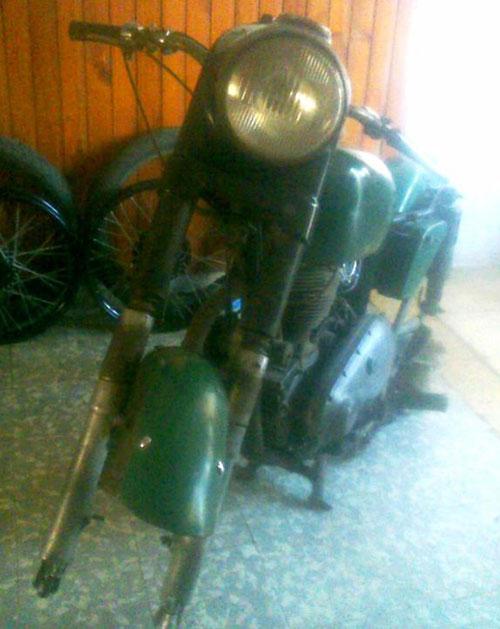 Moto AJS 350 1946
