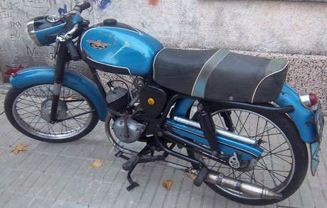 Motorcycle Crawdet 98 Sport 1958