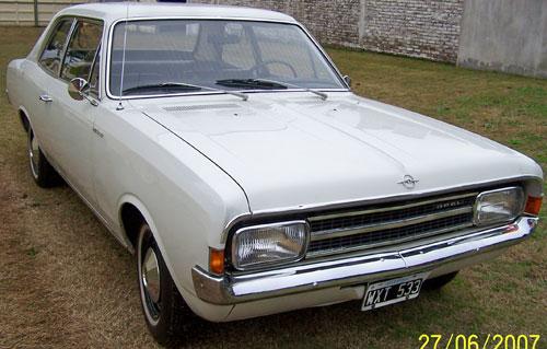 Car Opel Rekord 1966