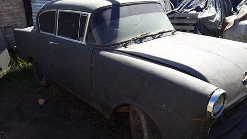 Car Opel Rekord 1958