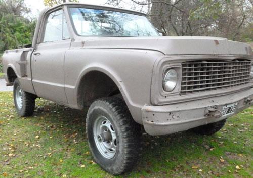 Auto Chevrolet C10 4x4 Militar