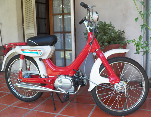 Motorcycle Honda PC 50 Corvex