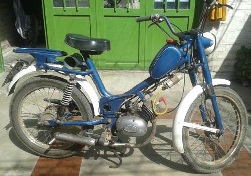 Motorcycle Zanella Bambina