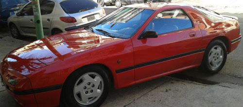 Car Mazda RX7