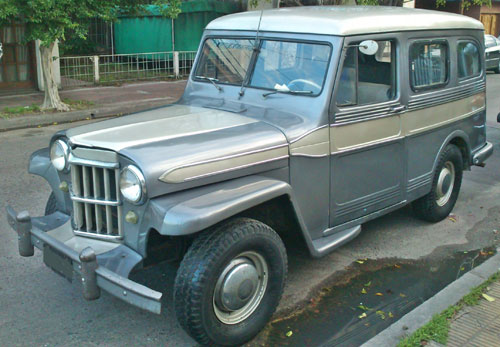 Car Willys Overland