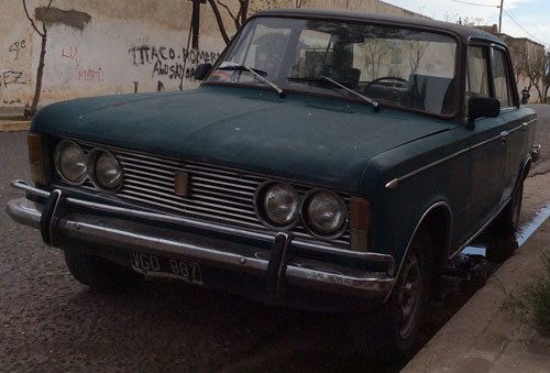 Car Fiat 1970