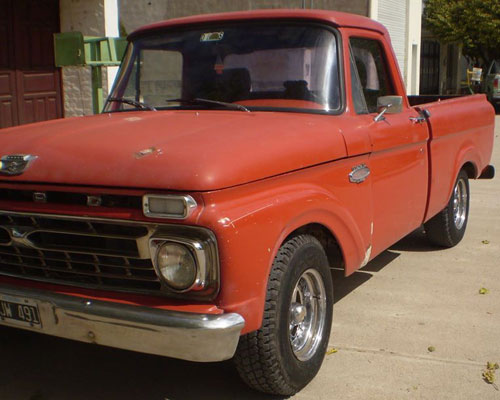 Car Ford F 100 1967 Twin Beam