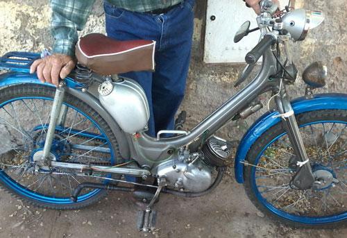 Motorcycle Siambretta Innocenti