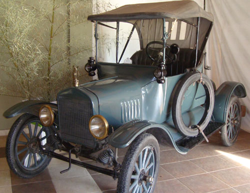Auto Ford T 1919