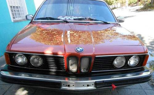 Car BMW 733I 1980
