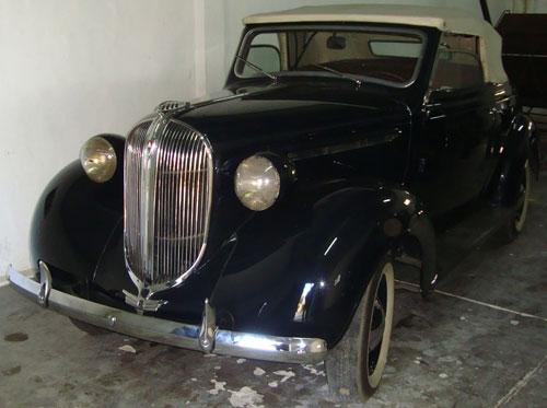 Car Plymouth 1938 Cabriolet