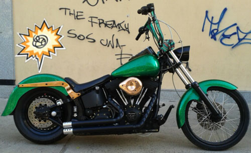 Moto Harley Davidson Fxstb Softail Night Train