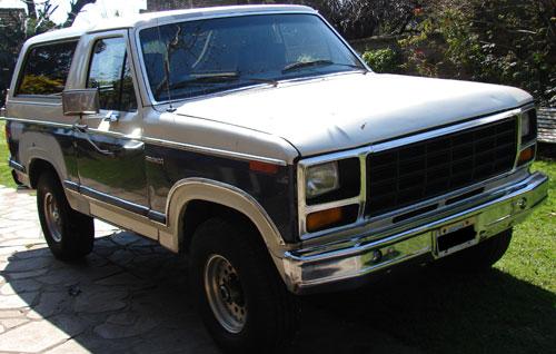 Car Ford Bronco